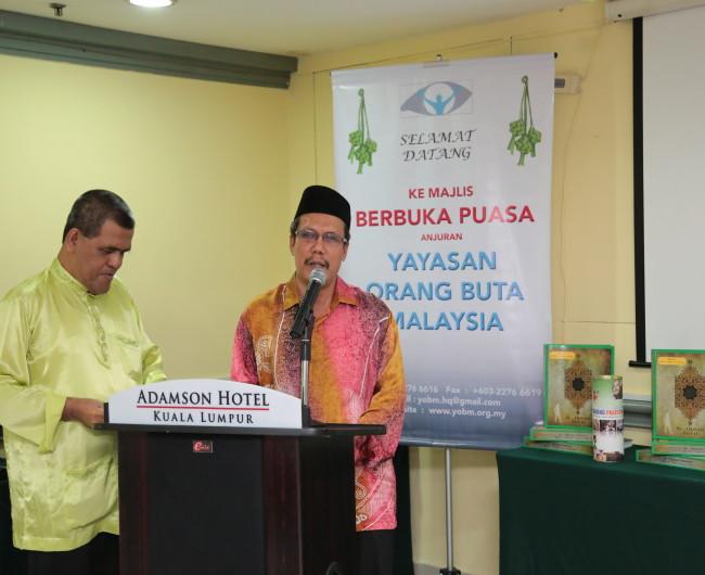 Rahim giving speech