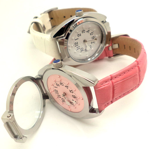 Quartz tactile watch female2