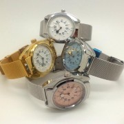 Quartz tactile watch male with different colors