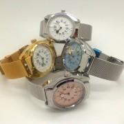 Quartz tactile watch male with different colors