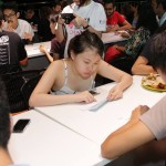 Students Focusing on Learning braille alphabets