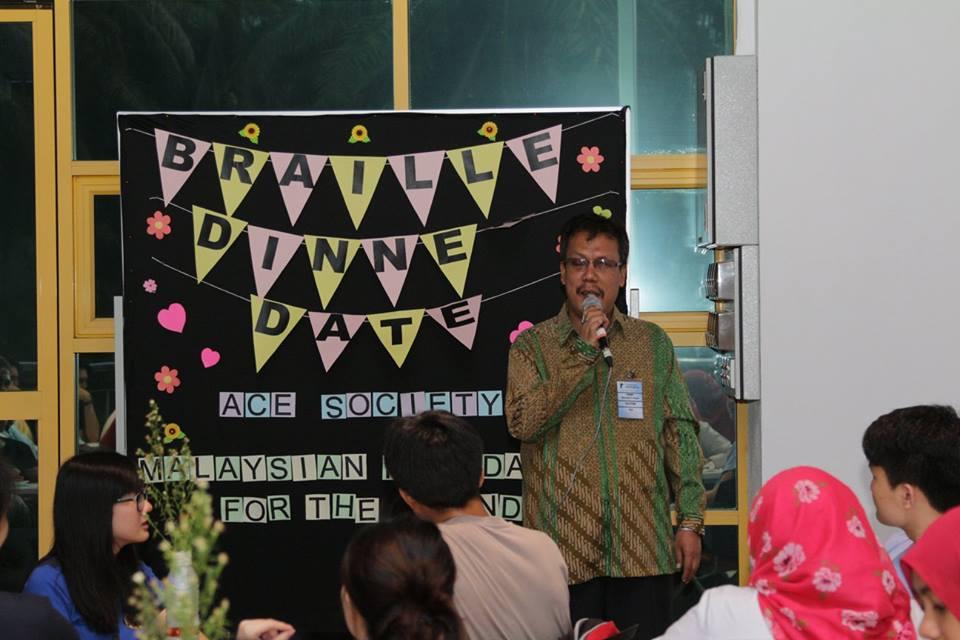 Rahim Giving Aspiring Speech