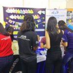 12 UMNC open day 2016 - explaining to visitors