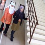 24 Disability Awareness Training Kangar Community Nurse College stairs 1