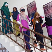 30 Disability Awareness Training Kangar Community Nurse College stairs 7