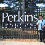 01 Mission to Perkins School for the Blind gate logo