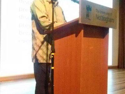 04 Disability Awareness Talk at Nottingham University Semenyih Malaysia, Rahim speaking