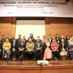 09 INTERNATIONAL SEMINAR ON SPECIAL EDUCATION at UPI, group photo 1