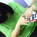 09 hands-on training at University of Science 2nd trainee smartphone 1