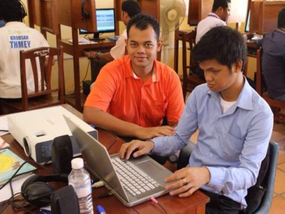 15 Audiobook training programs setup in Cambodia, workshop activities 5