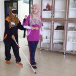 17 Disability Awareness Training Kangar Community Nurse College guiding 8