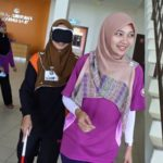 23 Disability Awareness Training Kangar Community Nurse College stairs 1