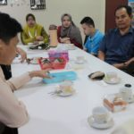 Tea and discussion2