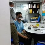 Demonstration on low vision equipment at Malaysian Foundation For The Blind2