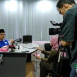 Shooting for RTM 1 at Malaysian Foundation for the Blind1
