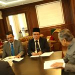 Courtesy visit to YAB Tun Dr. Mahathir Bin Mohamad, the Prime Minister of Malaysia 1