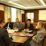 Courtesy visit to YAB Tun Dr. Mahathir Bin Mohamad, the Prime Minister of Malaysia 2